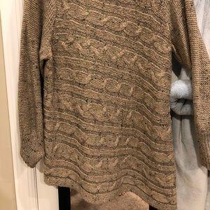 Dress barn beige sweater 2X